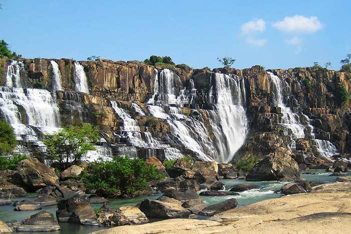 Cascada de Pongour en Dalat Vietnam