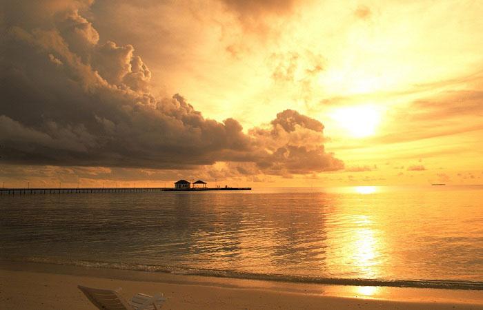 Puesta de sol en Phu Quoc Vietnam