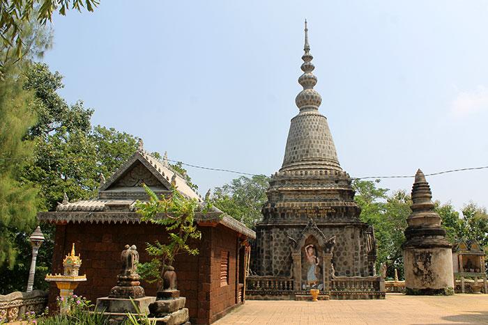 Las colinas de phnom Pros y Phnom Srey