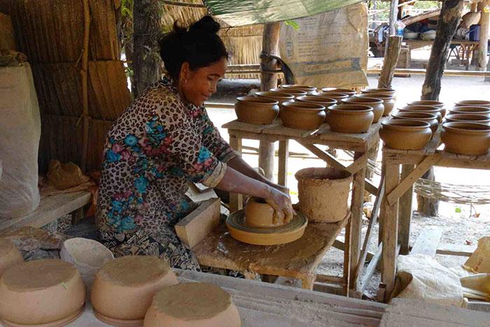 Ceramica en Kampong Chhnang