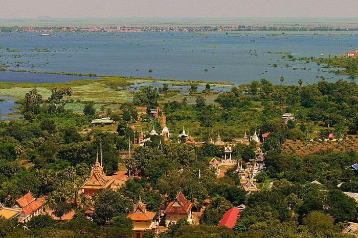 Oudong en Camboya
