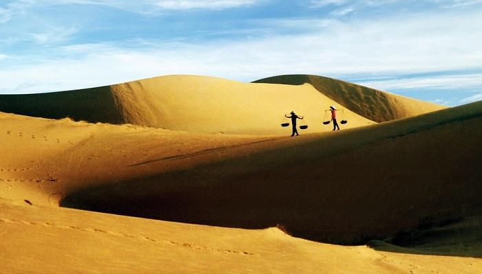 Dunas de arena roja en Mui Ne Vietnam