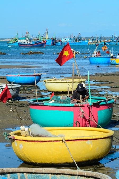 Mercado de pescadores en Mui Ne Vietnam
