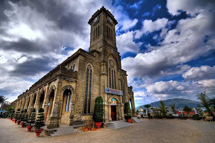 Catedral de Nha Trang en Vietnam