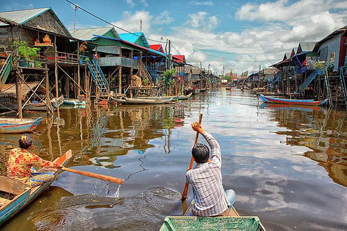 Crucero por el Tonlé Sap en Siem Reap