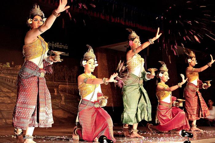 Danza Apsara en Siem Reap