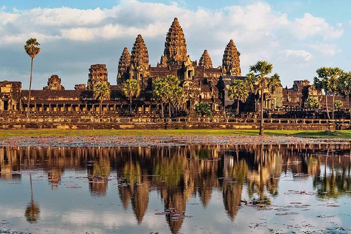 Tesoros arqueológicos de Angkor en Siem Reap