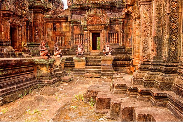Templo de Banteay Kdei en Siem Reap