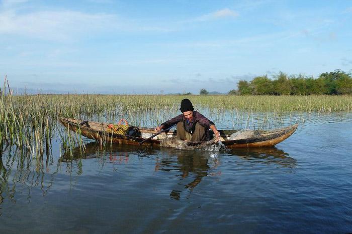 EL lago Lak en Vietnam