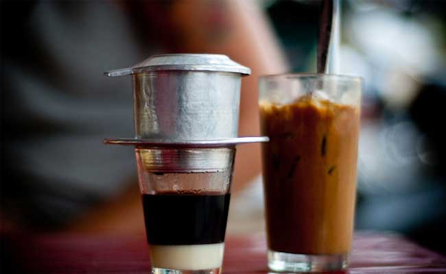 Cafe helado en Saigon Vietnam