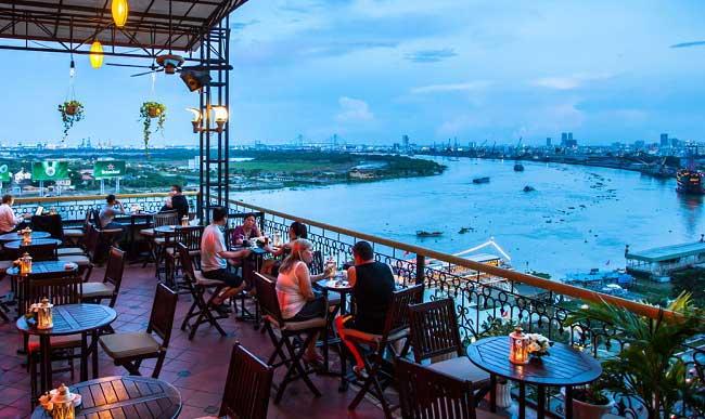 Hotel Majestic en Saigon Ho Chi Minh Vietnam