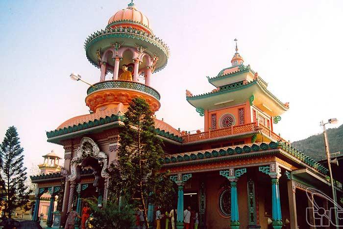Pagoda tay an en Chau Doc delta del Mekong