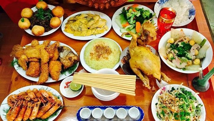 Ram Thang Bay en Vietnam comida