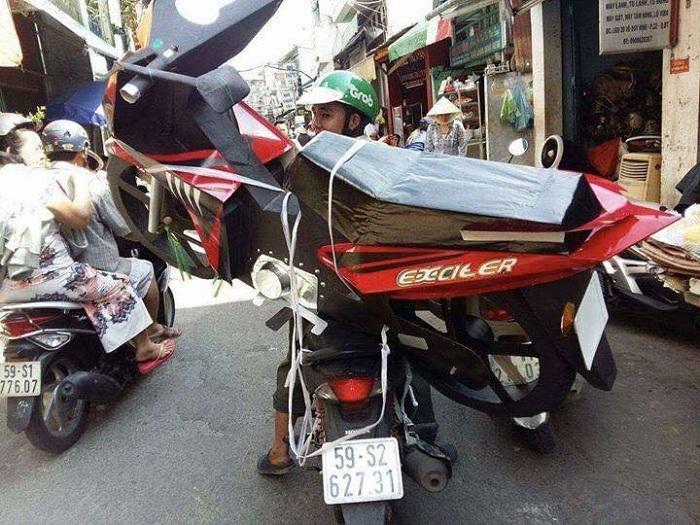 Ram Thang Bay en Vietnam moto