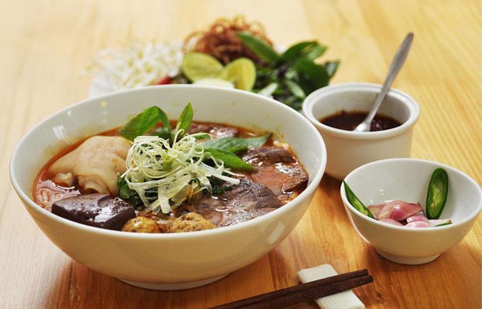 Receta del Bun Bo Hue Vietnam
