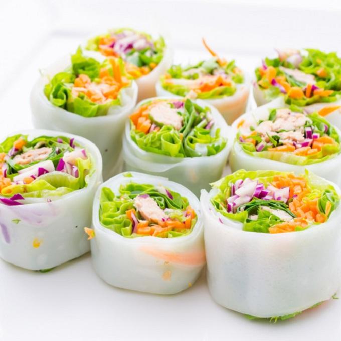 Rollito de primavera vegetariano Vietnam