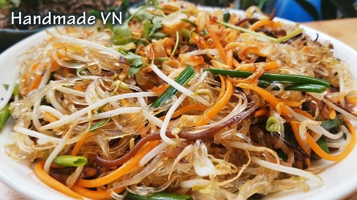 Receta vegetariana vermicelli salteados