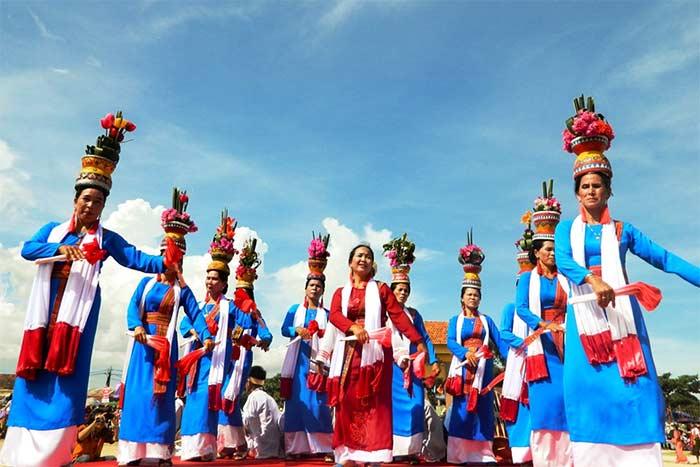 Danza del reino Cham en Vietnam