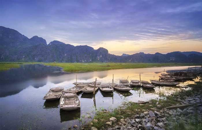La Reserva Natural de Vang Long en Ninh Binh