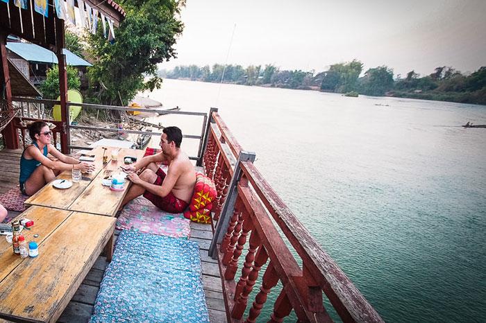 Restaurante Mama Leuah en Don Det Laos