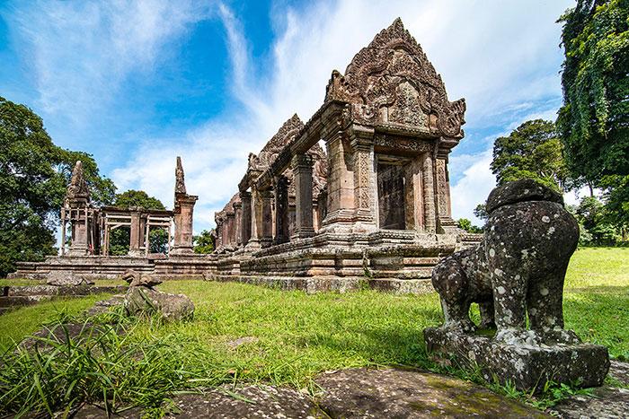 Ruinas del templo Preah Vihear