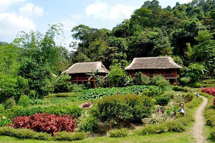Casas de familia en Hoang Su Pi Vietnam