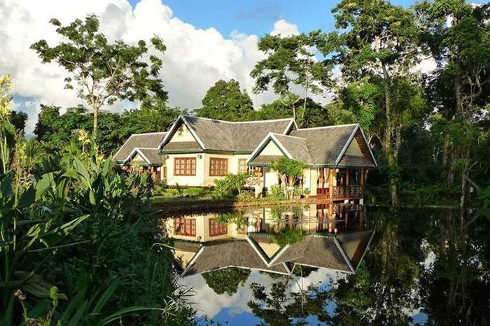 Sinouk coffee Resort en la meseta de Bolovens Laos
