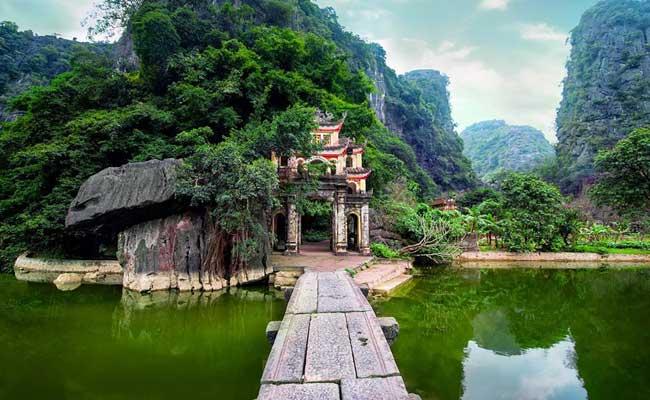 Bich Dong o cueva de jade en Ninh Binh