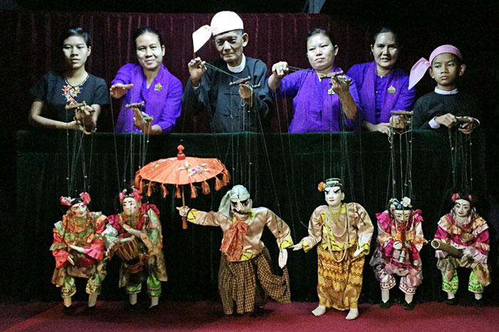 Teatro tradicional Yok Thei Myanmar
