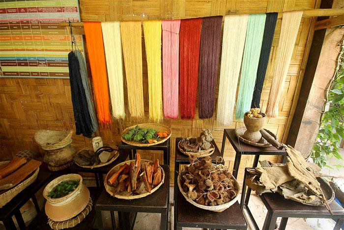 Centro de tejido de Ock Pop Tok en Luang Prabang Laos