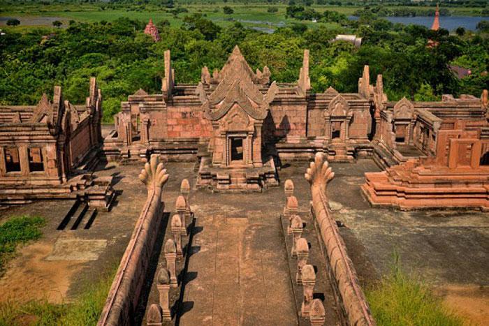Templo Preah Vihear desde lo alto
