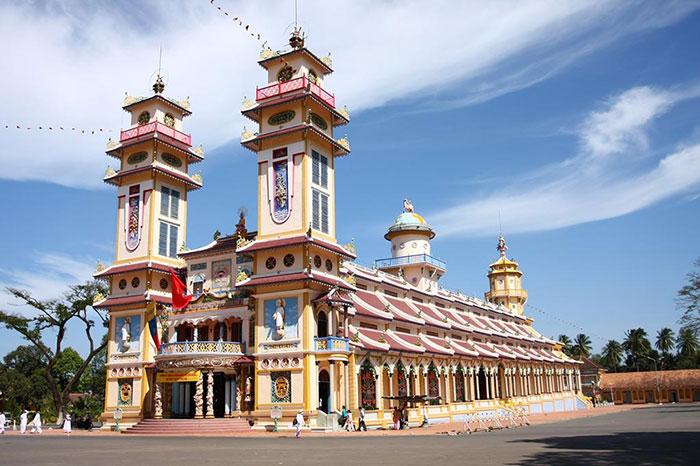 Templo caodaista en Tay Ninh