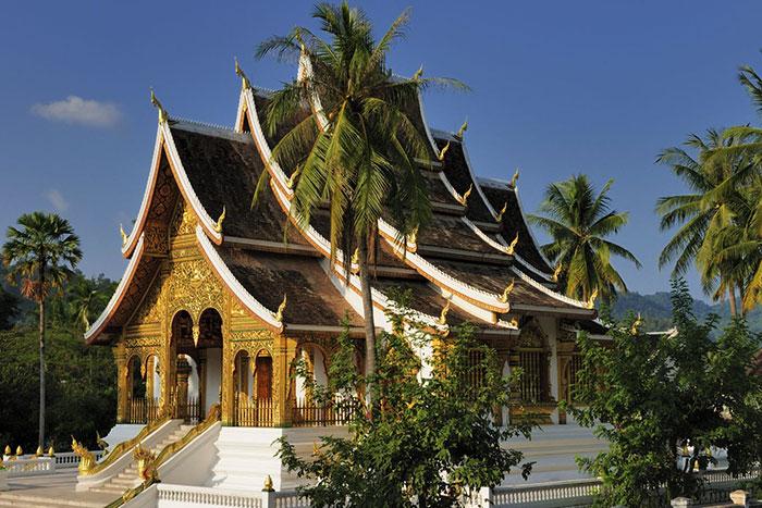 Templo Haw Pha Bang en Luang Prabang Laos