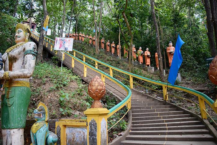Templo Phnom Sombok en Kratie