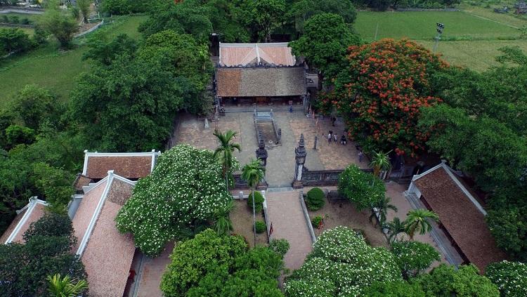 Templo del rey Dinh en Hoa Lu Vietnam