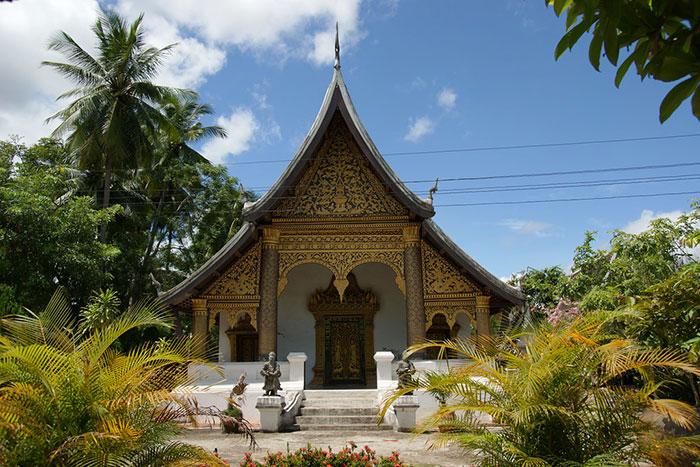 Templo Vat Choum Khong en Luang Prabang Laos