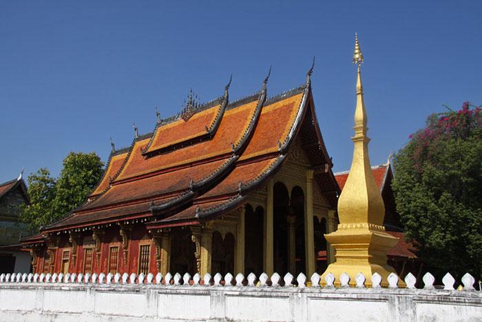 Templo Vat Sene Souk Haram en Luang Prabang Laos