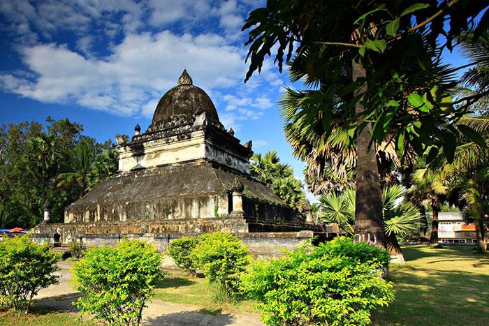 Templo Vat Visoum en Luang Prabang Laos