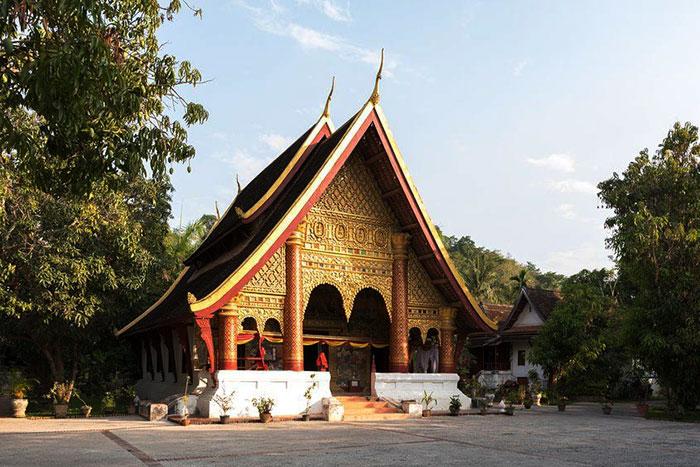 Templo Vat Xieng Mouane en Luang Prabang Laos