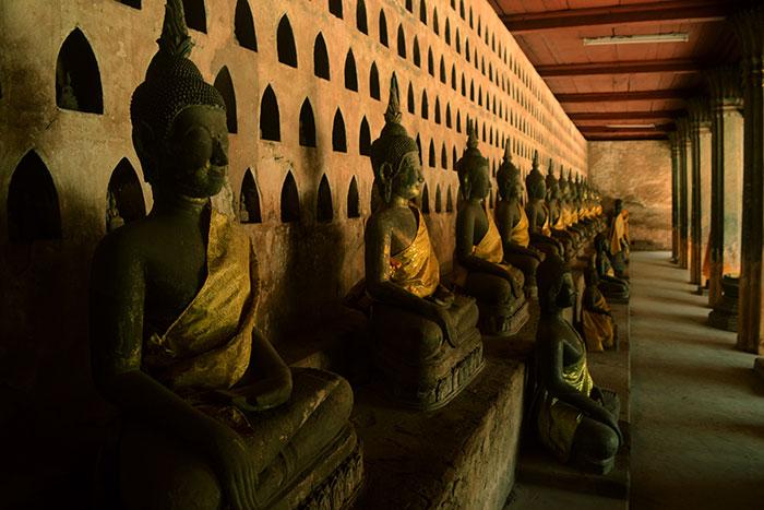 Templo en VIentiane Laos
