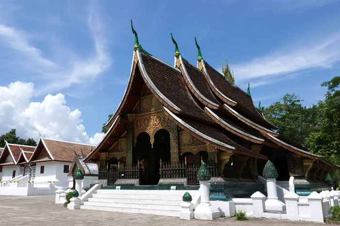 Templo Wat Xieng Thong en Luang Prabang Laos