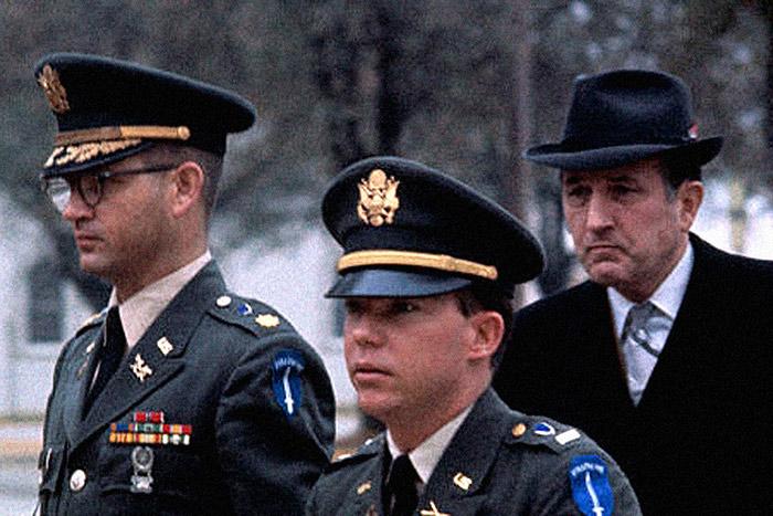 Tenientes americanos en la masacre de My Lai Vietnam