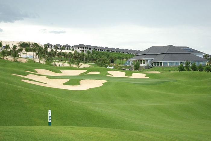 Campo de golf en Mui Ne Vietnam