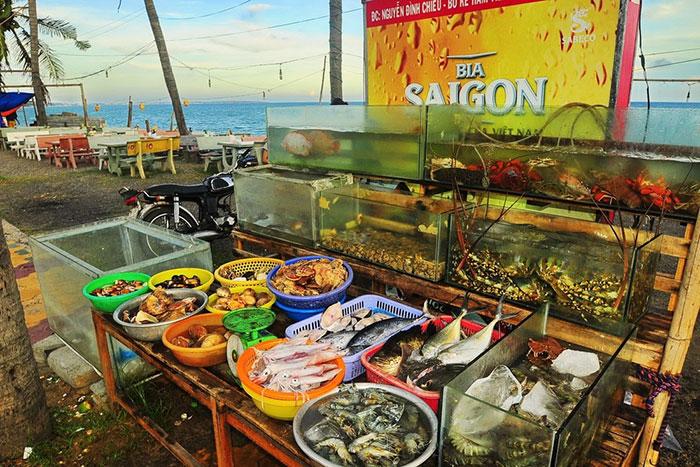 Mariscos en Mui Ne Vietnam