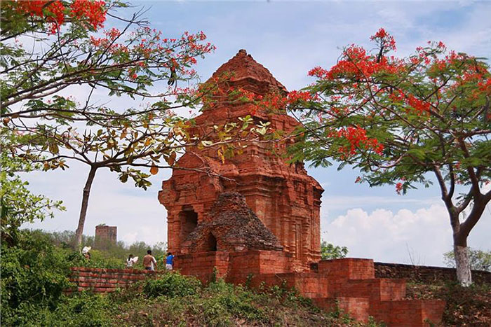 Torres Cham en Mui Ne Vietnam