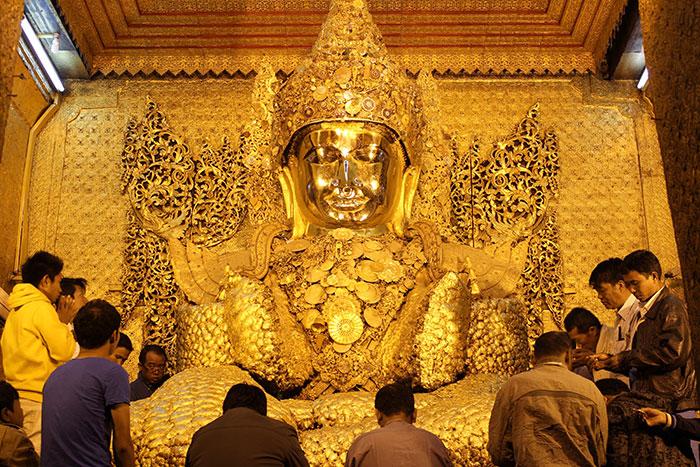 Pagoda Mahamuni en Myanmar