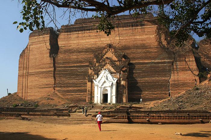 Pagoda Mantara Gyi en Myanmar