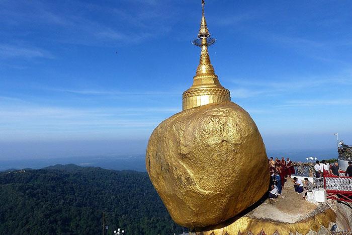 Roca de Oro en Myanmar