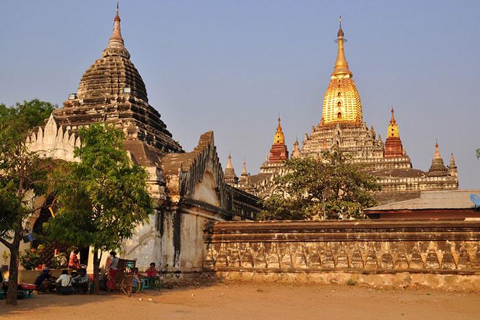 Templo de Ananda en Myanmar