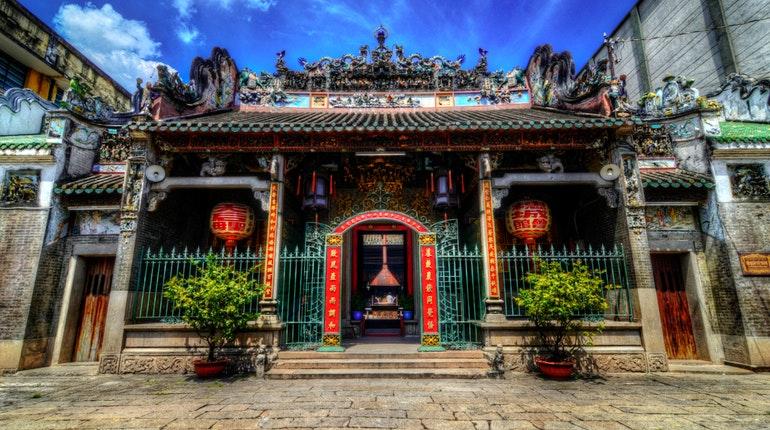 Barrio chino en Ho Chi Minh expatriados Vietnam